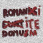 Romanus Eunt Domus by Ejpokst