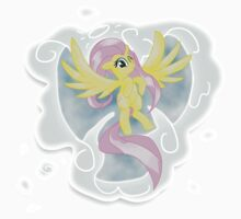 Fluttershy's Cloud Angel by SteCisTTWG