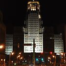 City Hall at Night by Jill Vadala