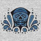 Blue skull by trossi