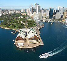 Sydney Opera House by dezignercat