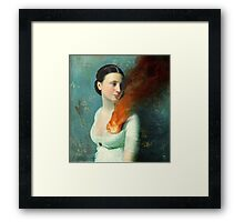Portrait of a heart Framed Print