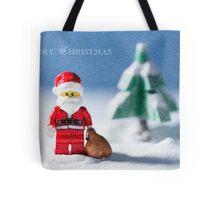 Christmas Greeting Card Tote Bag