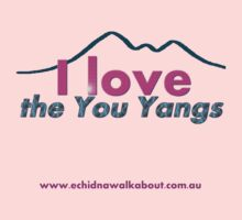 I love the You Yangs - light background by Echidna  Walkabout