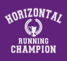 Horizontal Running Champion by protos