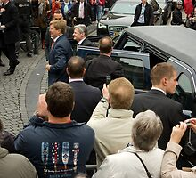 President of Germany Joachim Gauck in Breda for May 5 speech by steppeland