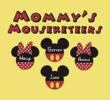 Mommy's Mouseketeers Disney Personalized *YOU MUST BUBBLEMAIL ME FOR YOUR CUSTOM LISTING* by sweetsisters