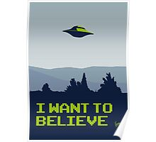 My X-files: I want to believe poster Poster