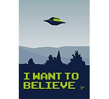 My X-files: I want to believe poster Photographic Print