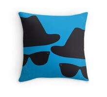 No012 My Blues brothers minimal movie poster Throw Pillow