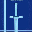 No034 My Highlander minimal movie poster by Chungkong