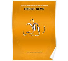 No054 My Finding Nemo minimal movie poster Poster