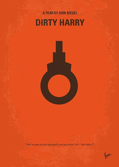 No105 My Dirty Harry movie poster by Chungkong