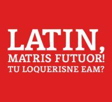 Latin Do You Speak It White T-Shirt