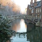Mathematical Bridge, Cambridge by hpelly31