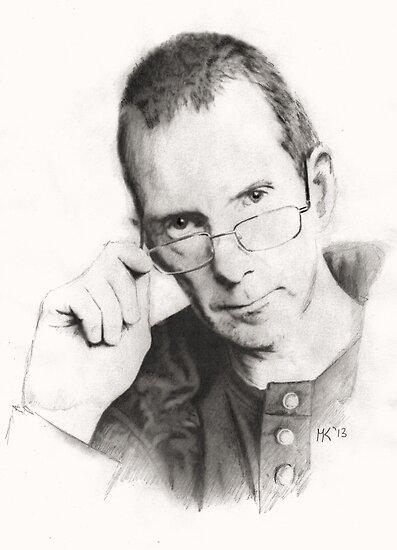 """Self Portrait"" by Martin Kirkwood"