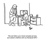 Funny Financial Cartoon by abbottoons