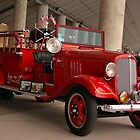 1934 Chevrolet Fire Engine  by TeeMack