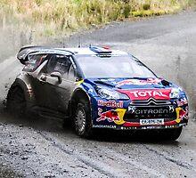Sebastien Loeb 2 WRC Rally GB by Danny Thomas