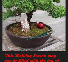 Bonsai Christmas tree by waverly888