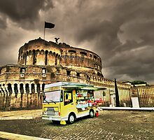 Gelateria: Castel Sant'Angelo, Rome (HDR) by JLaverty