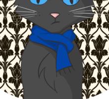 Catlock is Bored Sticker