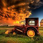 Storm Clouds Saskatchewan Canada by pictureguy