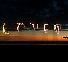 Love in Sunset Light by amandaflagg