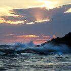 Splashes & Sunrays - Arthur River, Tasmania by clickedbynic