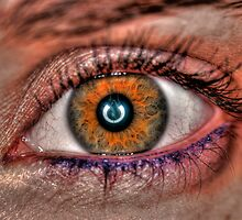Extreme closeup of a human eye  by PhotoStock-Isra