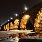 Stony Arch Bridge at Midnight by Culrick99