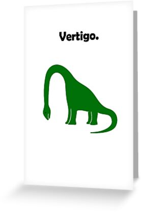 Brachiosaurus Has Vertigo. by jezkemp