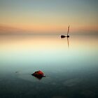 Flat calm Shipwreck by Grant Glendinning