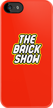 THE BRICK SHOW in brick font by Customize My Minifig by ChilleeW