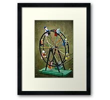Round and round we go* Framed Print