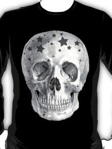 Albinus Skull 06 - Wannabe Star - Black Background T-Shirt