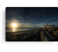 At Land's End Canvas Print