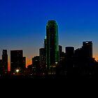 Dallas Texas at sunrise by Jay  Goode