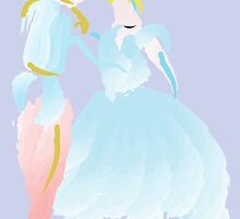 Disney - Cinderella and Prince Charming by Jessica Slater
