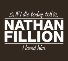 "Nathan Fillion - ""If I Die"" Series (White) by huckblade"