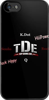 TDE Logo Phone Case by Emoni Bennett