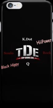 TDE Logo Phone Case by Emoni Bennett
