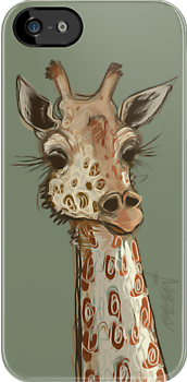 Lovely Lashes Giraffe by Razvan-Sedekiah