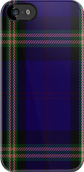 00853 West Coast Woven Mill Fashion Tartan #9275 1395 Fabric Print Iphone Case by Detnecs2013