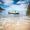 Caribbean fishermen Sugar Beach St Lucia by Heather Buckley by Heather Buckley