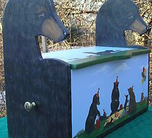 Realistic Bear Toy Box by Laurie Freeman