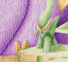 Shades Of Green Still Life by jkartlife