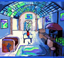 Van Goghs Living Room by schiabor
