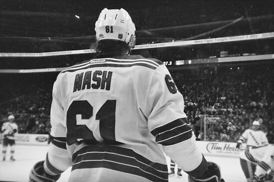 rick nash by David  Anderson