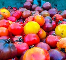Heirloom Tomatoes by Dennis Reagan